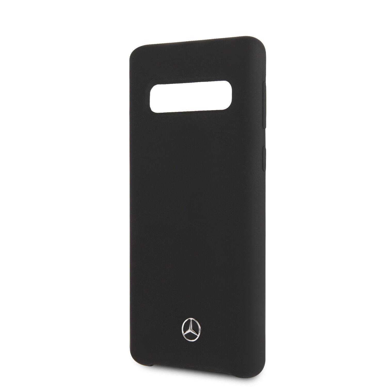 Mercedes silikonový kryt MEHCS10LSILBK pro Samsung Galaxy S10e black