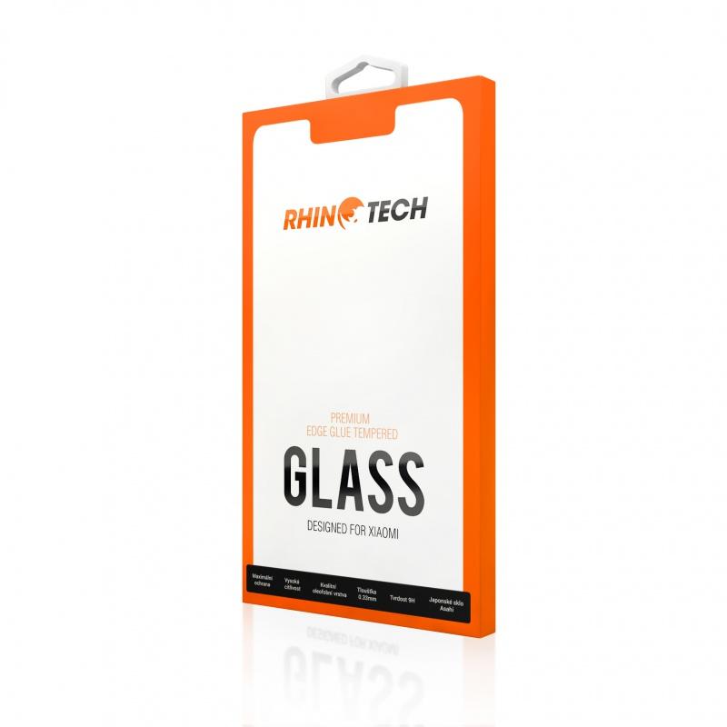 RhinoTech 2 Tvrzené ochranné 2.5D sklo pro Xiaomi Redmi Note 8T (Edge Glue) Black