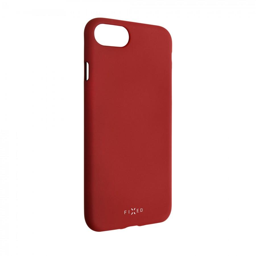 Zadní kryt FIXED Story pro Samsung Galaxy A71, červený