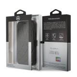Mercedes Quilted Perf flipové pouzdro MEFLBKN65DIQBK pro Apple iPhone 11 Pro Max black