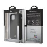 Mercedes Liquid silikonový kryt MEHCN65SILBK pro Apple iPhone 11 Pro Max black