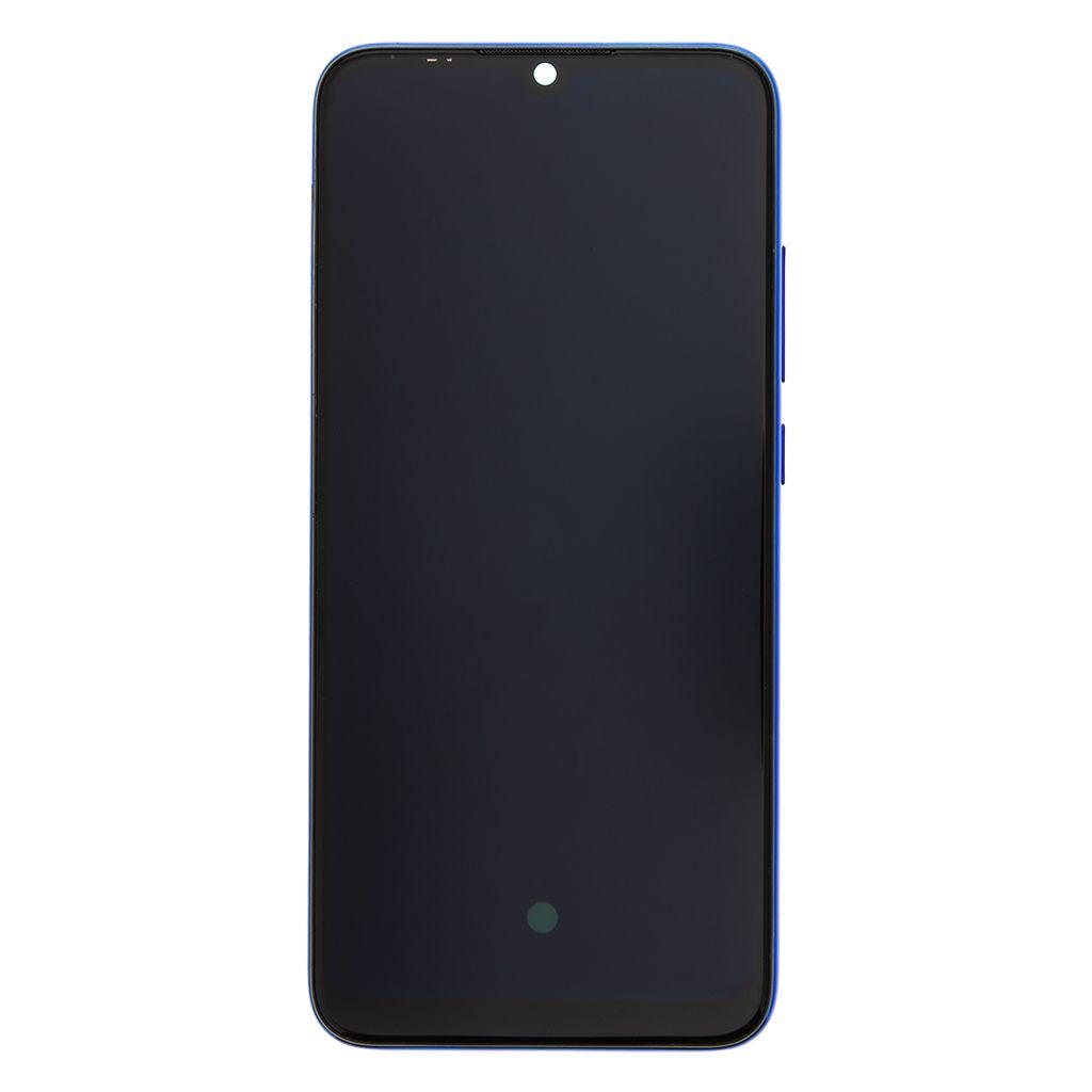 LCD + dotyk + přední kryt pro Xiaomi Mi A3, blue (Service Pack)