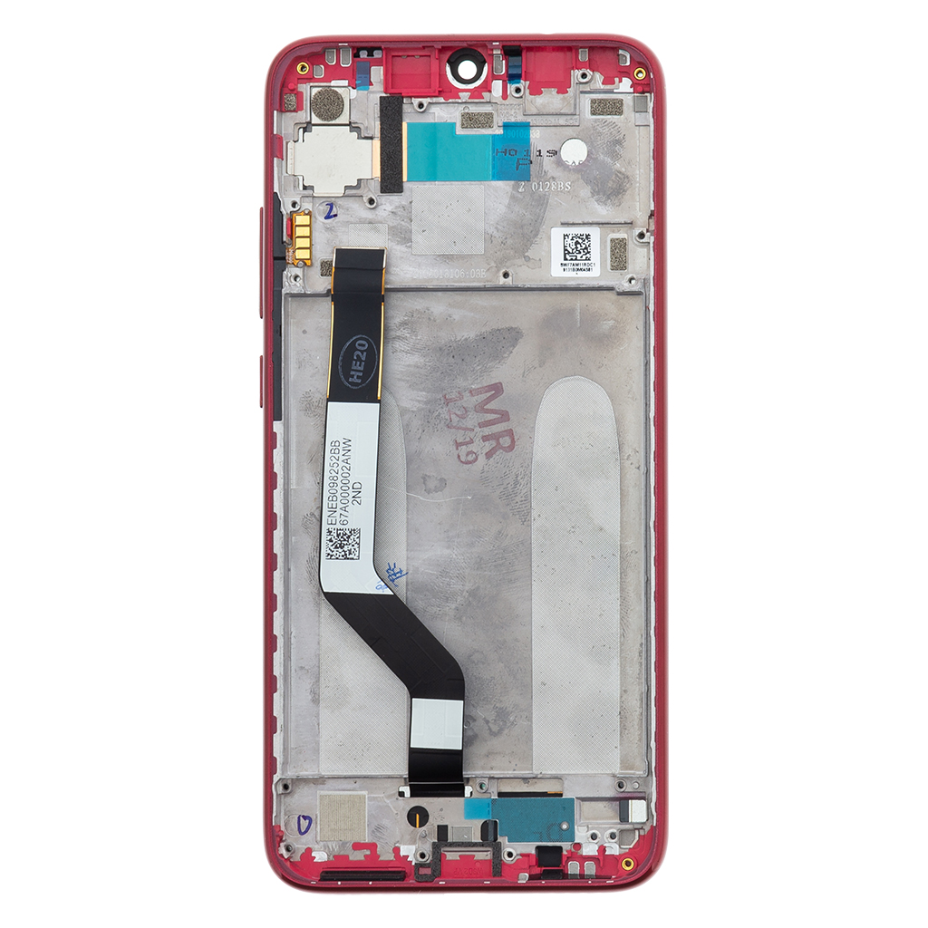 LCD + dotyk + přední kryt pro Xiaomi Redmi 7, red (Service Pack)