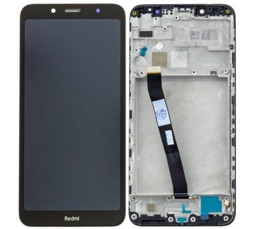 ND Xiaomi Redmi 7A LCD + dotyková jednotka + kryt, modrá
