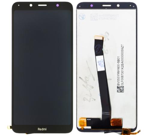 ND Xiaomi Redmi 7A LCD + dotyková jednotka, černá