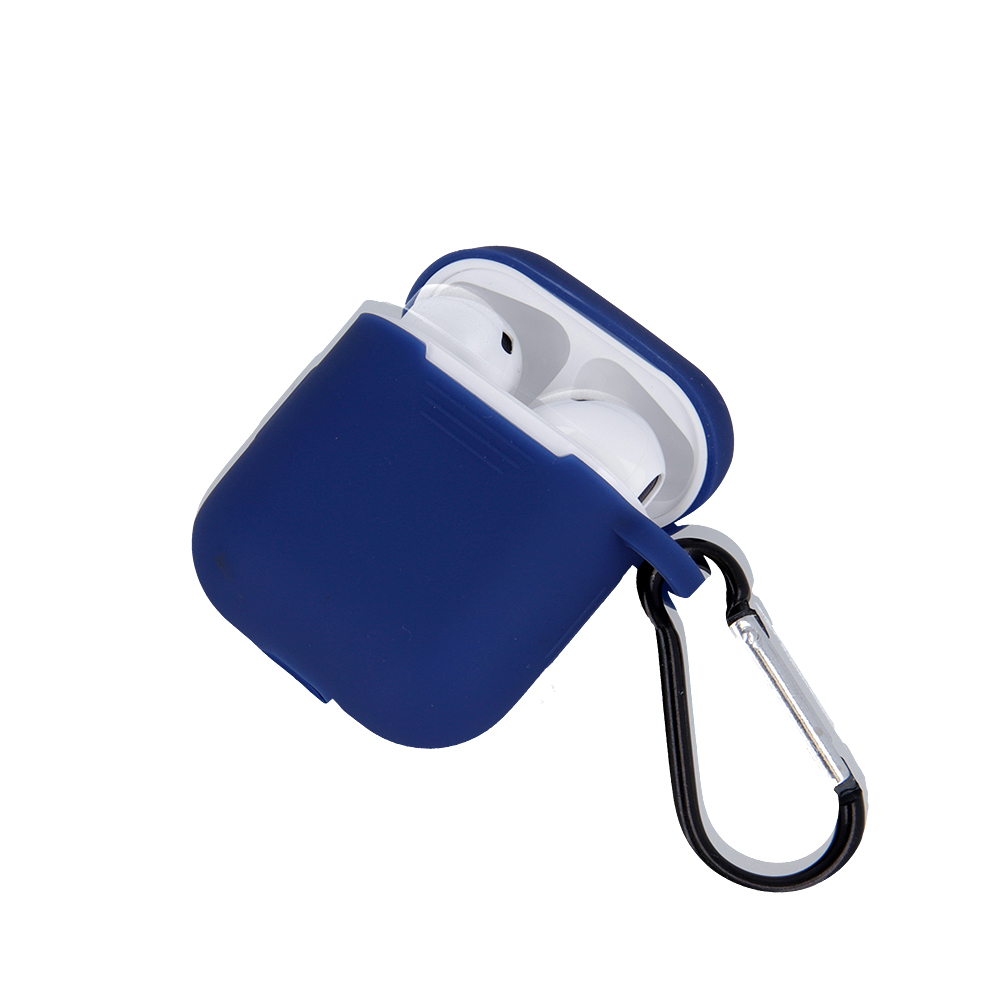Silikonový kryt pro Apple Airpods, modrá