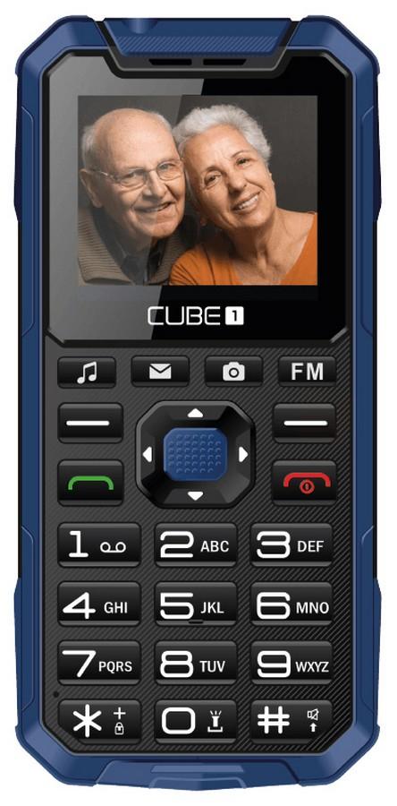 Cube1 S400 Senior modrá