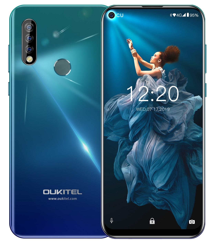 Oukitel C17 Pro 4GB/64GB modrá