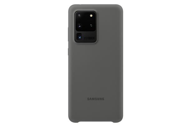 Ochranný kryt Silicone Cover pro Samsung Galaxy S20 ultra, šedá