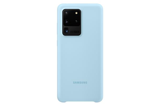 Ochranný kryt Silicone Cover pro Samsung Galaxy S20 ultra, modrá