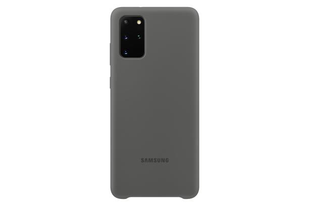Ochranný kryt Silicone Cover pro Samsung Galaxy S20 plus, šedá