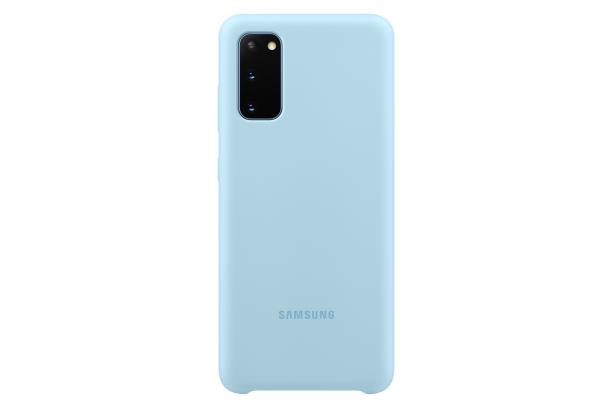 Ochranný kryt Silicone Cover pro Samsung Galaxy S20, modrá