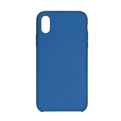 Silikonové pouzdro Swissten Liquid pro Apple iPhone XR, světle modrá