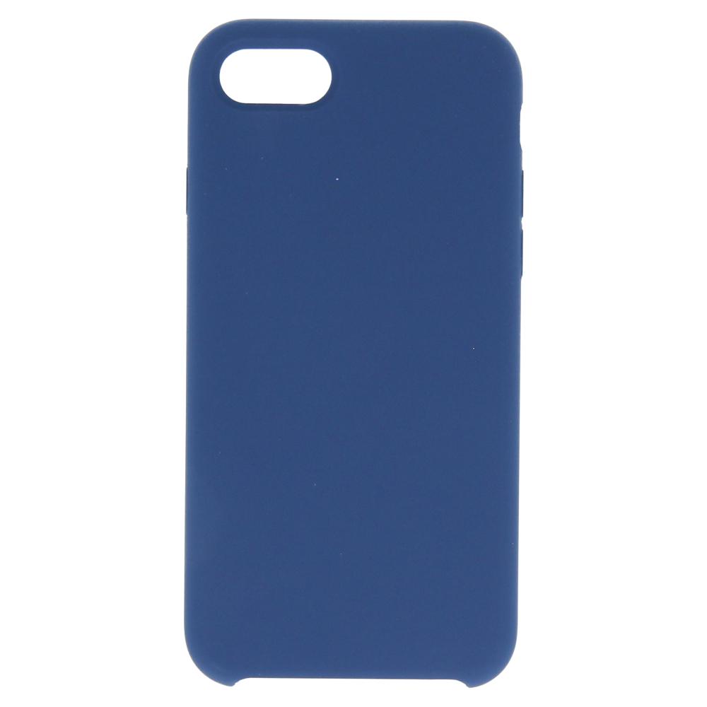 Silikonové pouzdro Swissten Liquid pro Apple iPhone 7/8 Plus, tmavě modrá