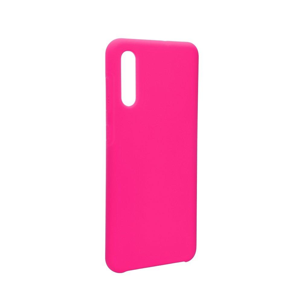 Silikonové pouzdro Swissten Liquid pro Samsung Galaxy A30, sytě růžová
