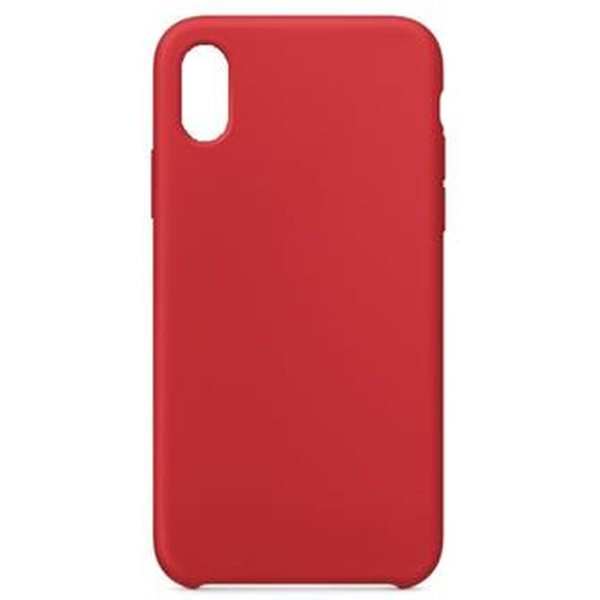 Silikonové pouzdro Swissten Liquid pro Apple iPhone XR, červená