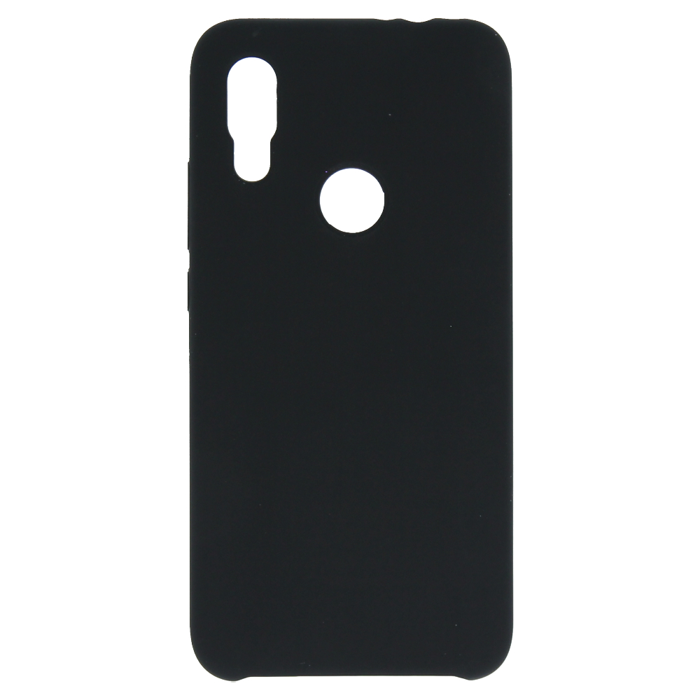 Silikonové pouzdro Swissten Liquid pro Apple iPhone XS Max, černá