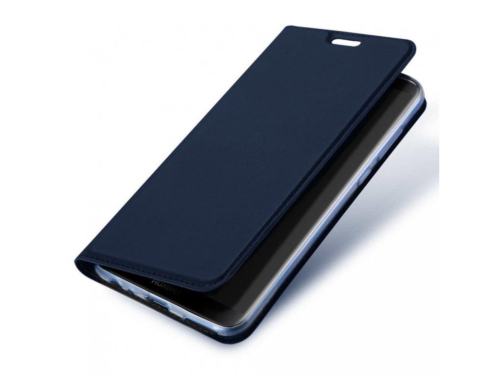 Flipové pouzdro Dux Ducis Skin pro Samsung Galaxy A51, modrá