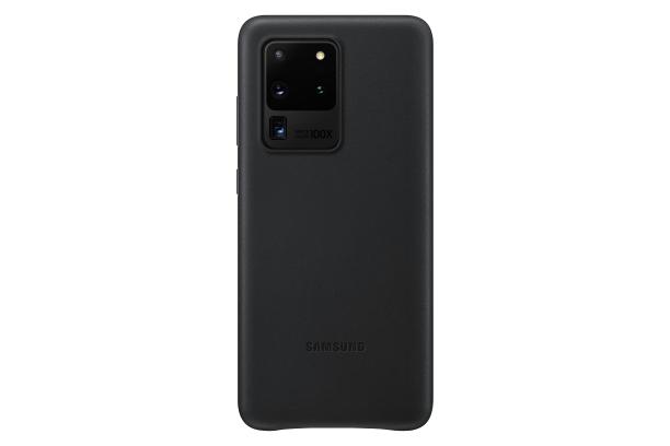 Ochranný kryt Leather Cover pro Samsung Galaxy S20 ultra, černá