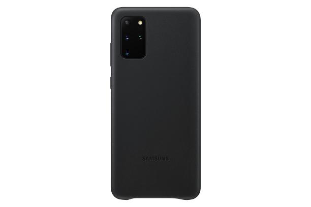 Ochranný kryt Leather Cover pro Samsung Galaxy S20 plus, černá