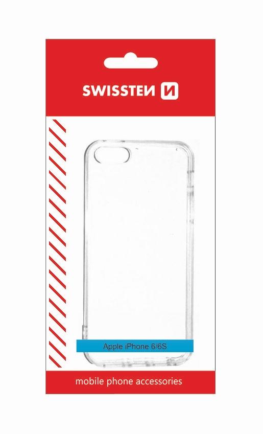 Pouzdro Swissten Clear Jelly Samsung Galaxy J3 J320, transparentní