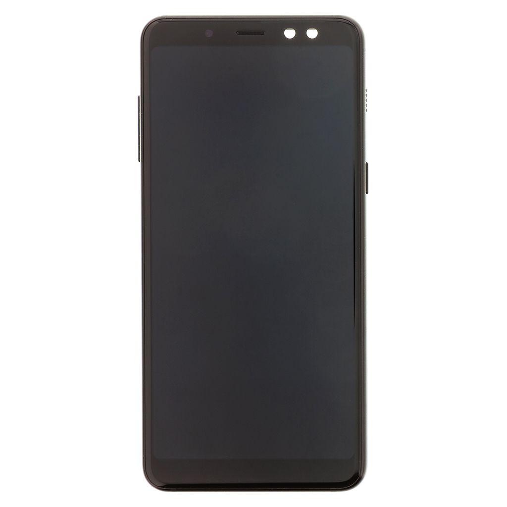 LCD + dotyková deska pro Samsung Galaxy A71, black (Service Pack)