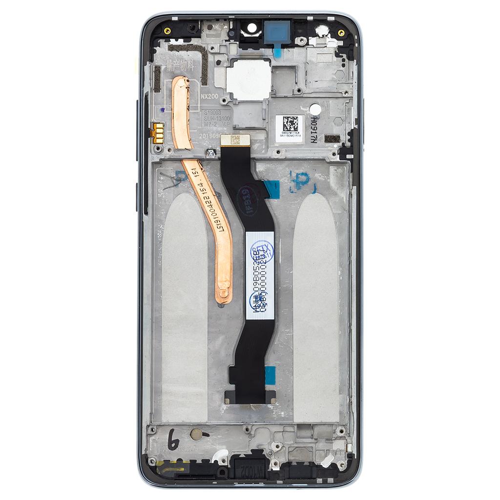 LCD Display + Dotyková Deska + Přední Kryt pro Xiaomi Redmi Note 8 Pro Black
