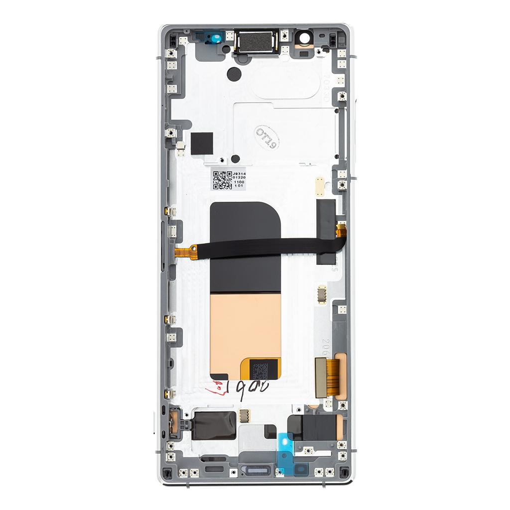 LCD Display + Dotyková Deska + Přední Kryt Sony J8210 Xperia 5 Grey (Service Pack)