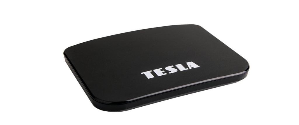 Multimediální centrum TESLA MediaBox TEH-500 PLUS/ 4K Ultra HD/ DVB-T/T2/C/ s Android 9 Pie