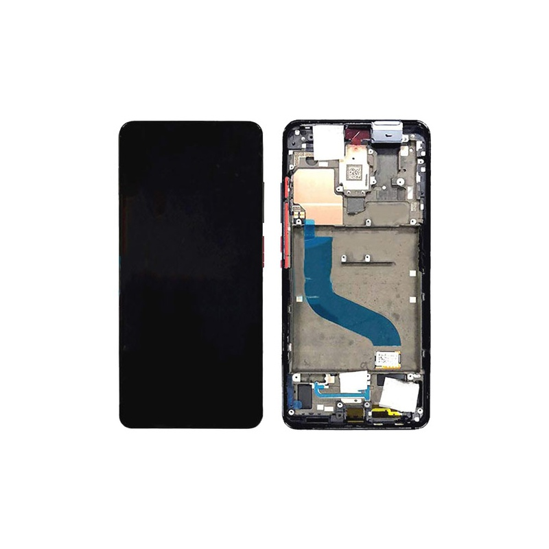 Xiaomi Mi A3 LCD + Touch + Frame - Silver (Service Pack)