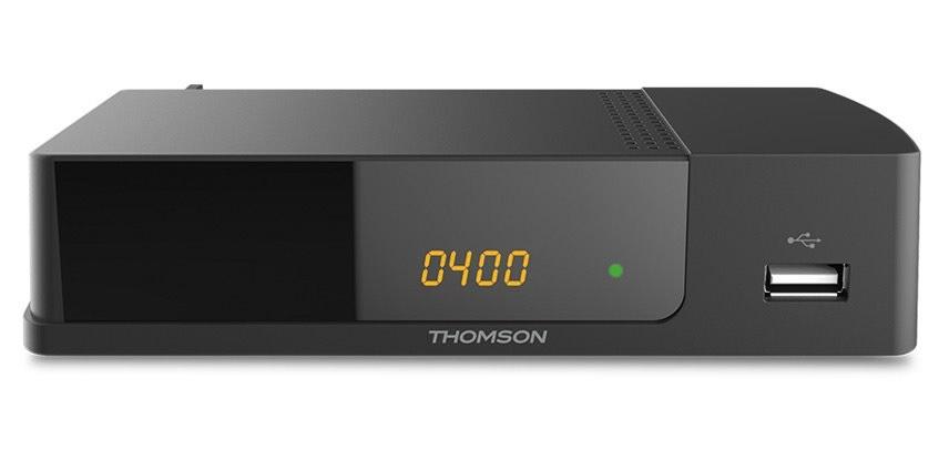 Set top box THOMSON THT 709 DVB-T/T2/ Full HD/ H.265/HEVC/ CRA ověřeno/ PVR/ EPG/ USB/ HDMI/ LAN/ SCART/ černá