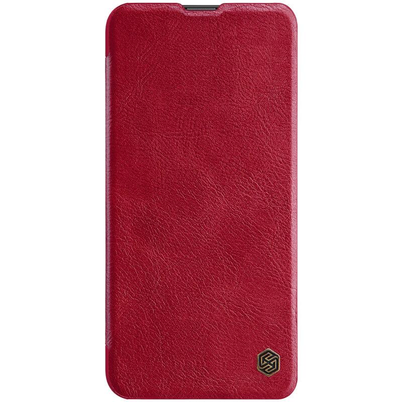 Nillkin Qin flipové pouzdro Xiaomi Mi 10 Youth / Mi 10 Youth 5G / Mi 10 Lite 5G red