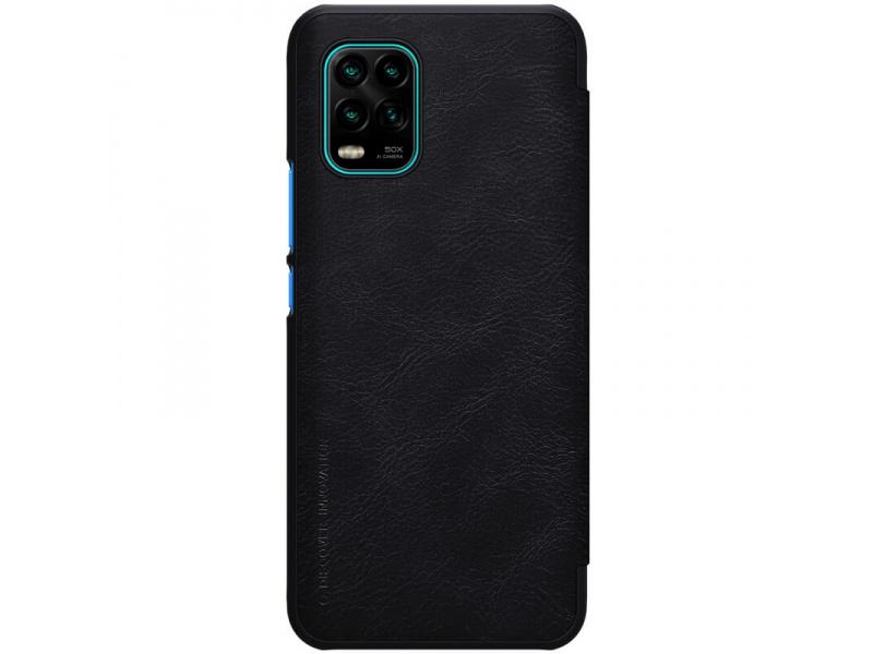 Nillkin Qin Leather Case Xiaomi Mi 10 Youth / Mi 10 Youth 5G / Mi 10 Lite 5G Black