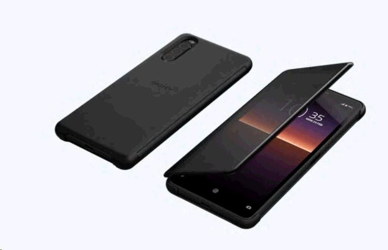Sony Style Cover View XQZ-CVAU pro Sony Xperia 10 II black