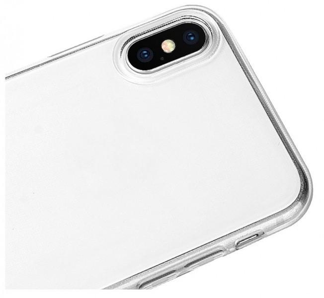 Silikonové pouzdro TRANSPARENT ALIGATOR pro Xiaomi Redmi Note 9