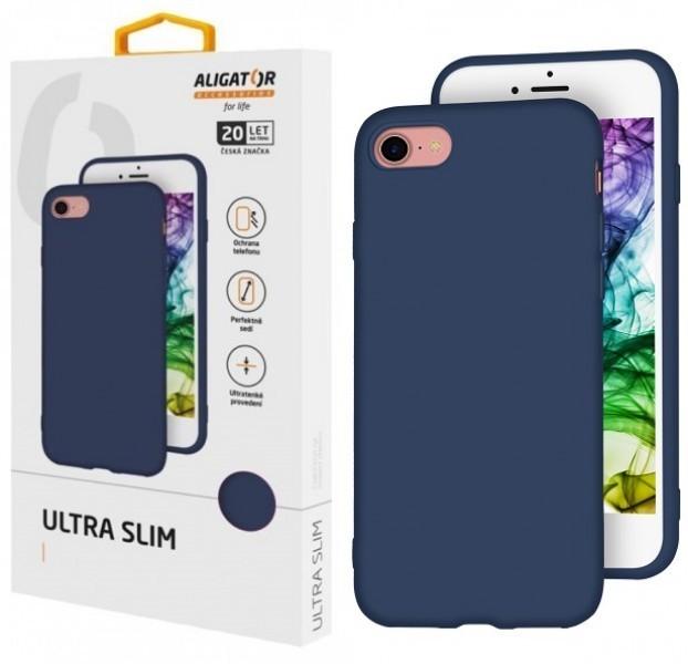 Silikonové pouzdro ALIGATOR Ultra Slim pro Samsung Galaxy A41, modrá