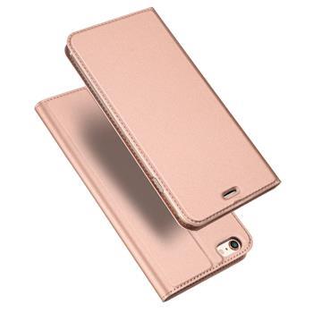 Flipové pouzdro Dux Ducis Skin pro Huawei Y6p, světle růžová