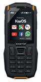 Aligator K50 eXtremo 4G/LTE černá/oranžová