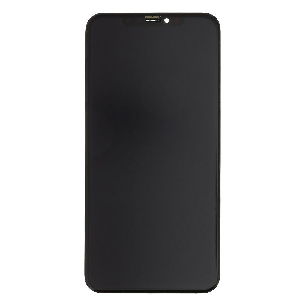 LCD + dotyková deska + rámeček pro Apple iPhone Xs, black AAA