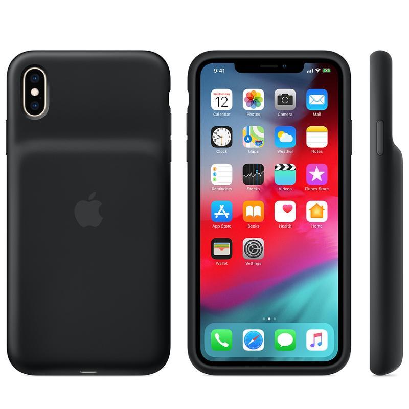 Apple Smart Battery kryt MRXQ2ZM/A Apple iPhone XS Max black