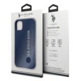 USHCN65SLNVV2 U.S. Polo Silicone Effect Kryt pro iPhone 11 Pro Max