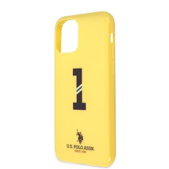 Silikonový kryt U.S. Polo No1 Bicolor pro Apple iPhone 11, yellow