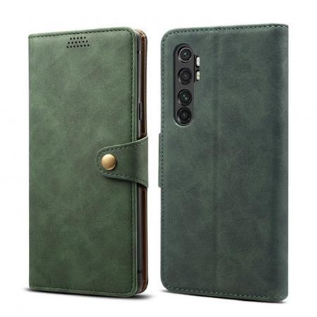 Lenuo Leather flipové pouzdro na Xiaomi Redmi 9, green