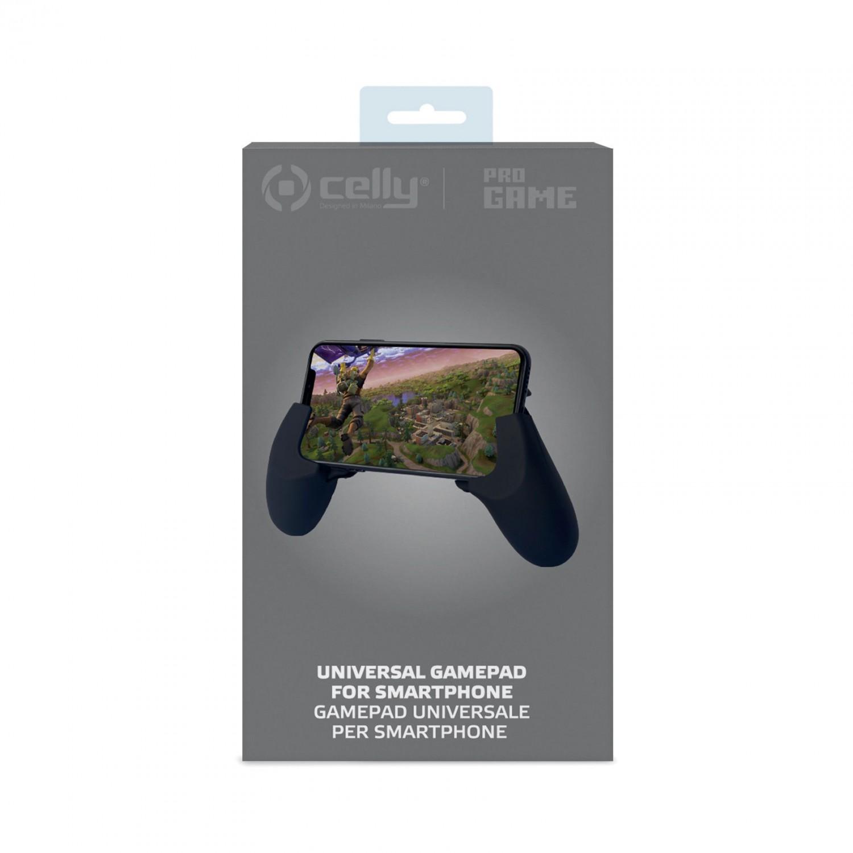 Herní joystick CELLY Gamegrip pro hraní her na mobilu, černý