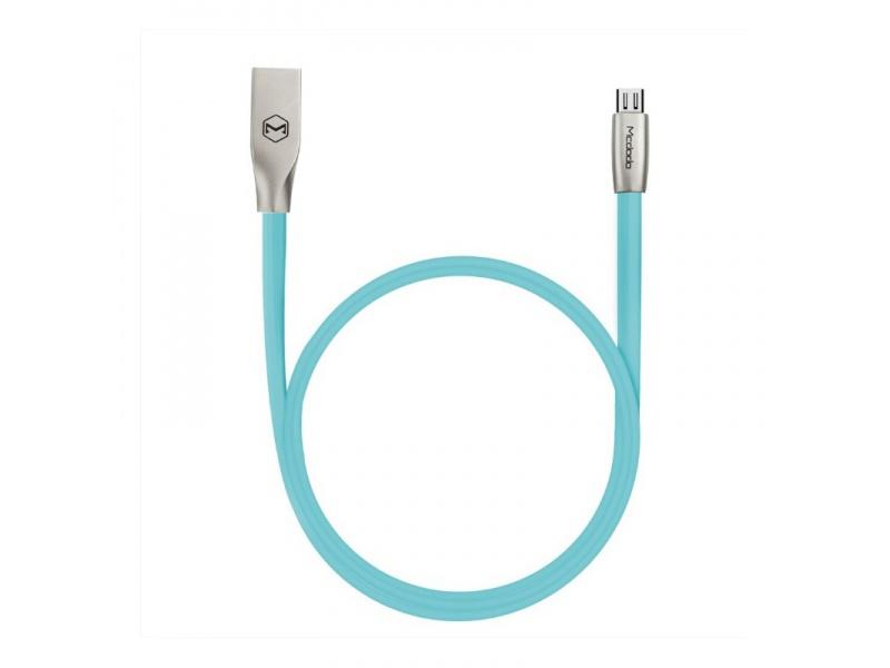 Datový kabel Mcdodo Zinc Alloy Series Micro USB Cable, 1,5m, modrá