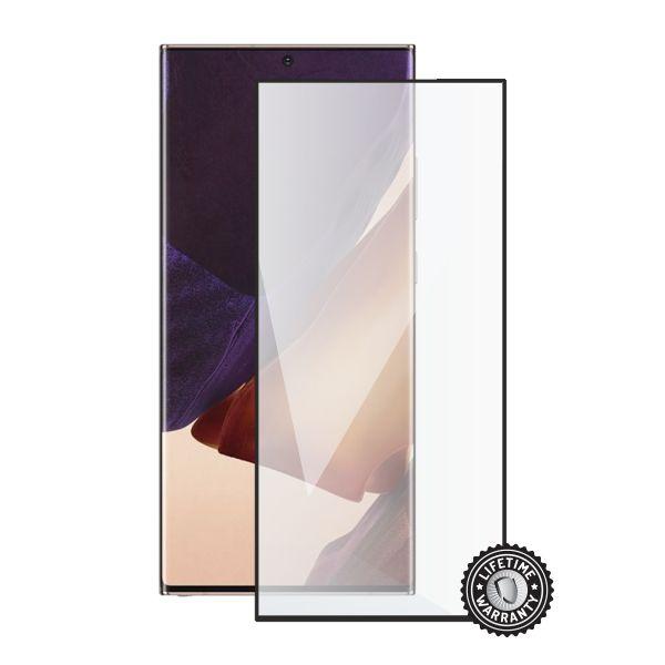 Ochranné sklo Screenshield pre Samsung Galaxy S20 Ultra, (full COVER black)