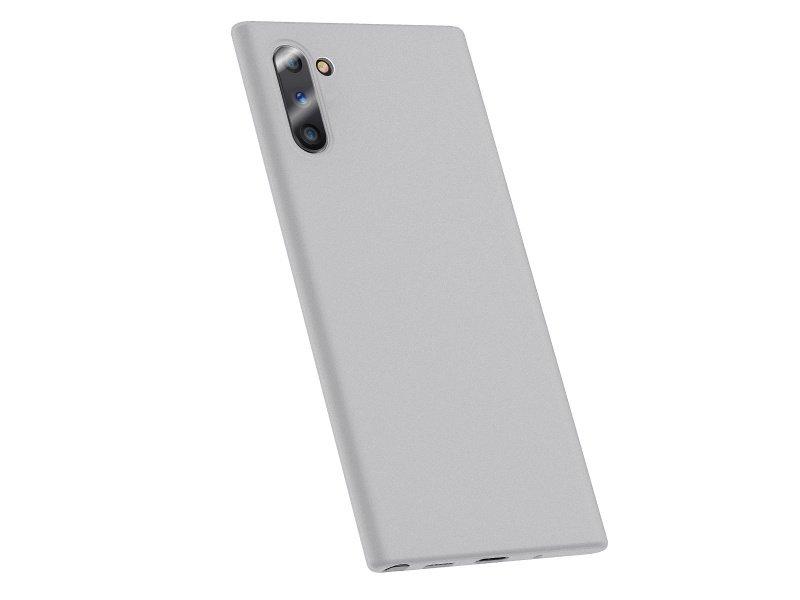 Baseus Wing silikonový kryt, pouzdro, obal na Samsung Galaxy Note10 whiteNote10 White