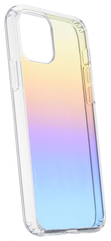 Cellularline Prisma duhový kryt, pouzdro, obal Apple iPhone 11, polotransparentníí