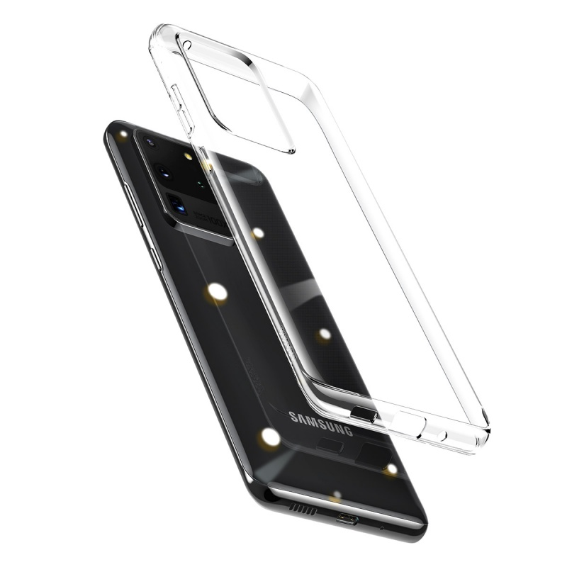 Silikonové pouzdro Baseus Simple Case pro Huawei P40 Pro, transparentní