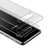 Silikonové pouzdro Baseus Simple Case pro Samsung Galaxy S10, transparentní